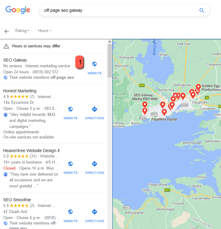 off page seo galway