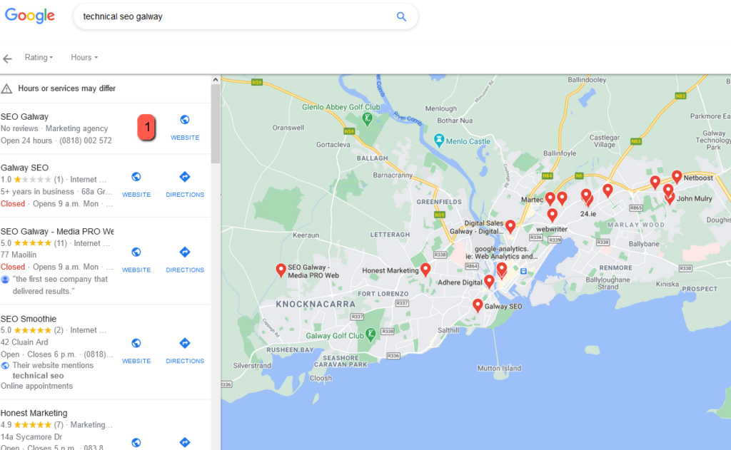 technical seo galway